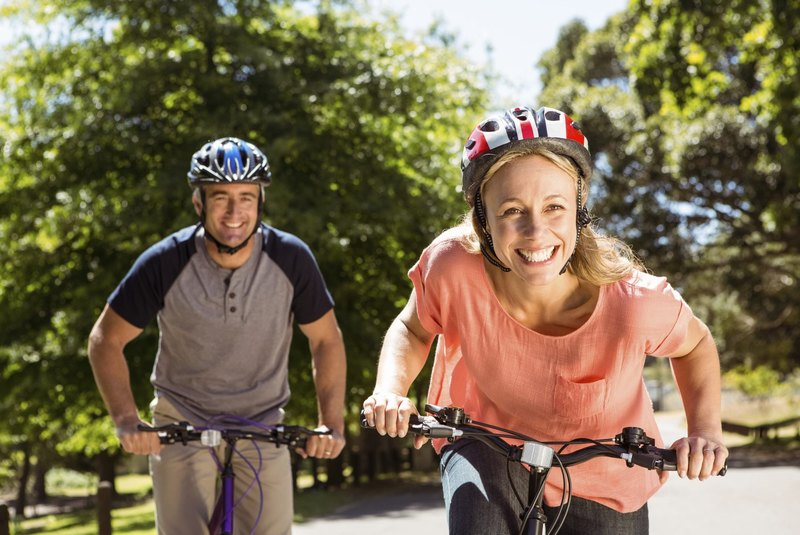 rowerzyści spotyka się osobiście