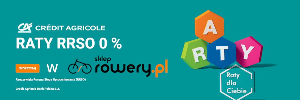 Raty CA 0%- sklep.rowery.pl